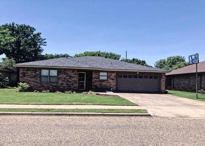 Idalou Single Family Home Under Contract: 1003 Cedar Avenue