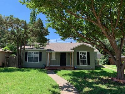 Lubbock Single Family Home For Sale: 2709 28th Street