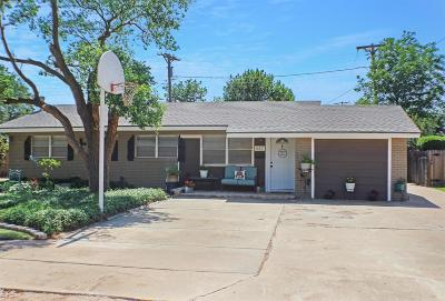 Brownfield, Meadow Single Family Home Under Contract: 807 S Lons Street