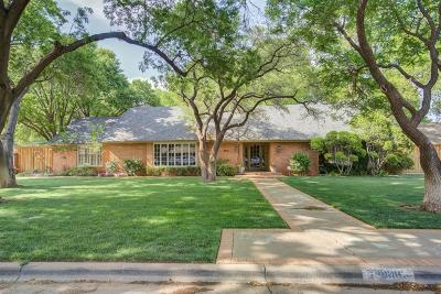 Lubbock Single Family Home For Sale: 4606 15th Street
