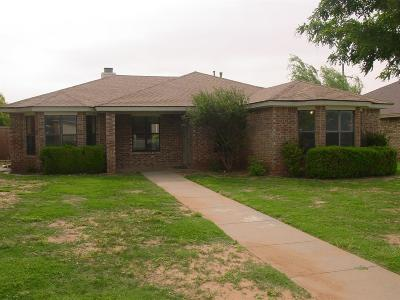 Lubbock Single Family Home For Sale: 9707 Abbeville Avenue