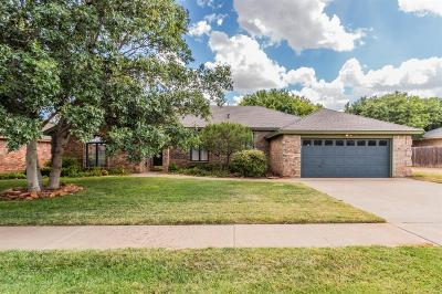 Lubbock Single Family Home For Sale: 5307 84th Street