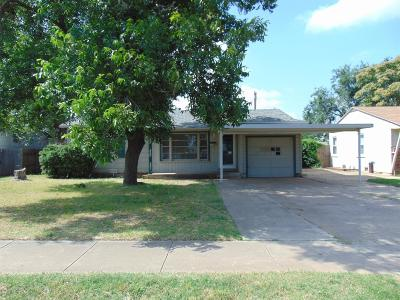Lubbock County Single Family Home Under Contract: 4309 42nd Street
