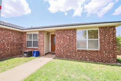 Wolfforth Single Family Home Under Contract: 1603 Corpus Avenue