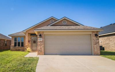 Lubbock Single Family Home Under Contract: 5527 108th Street