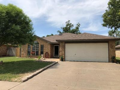 Lubbock Single Family Home For Sale: 5708 95th Street