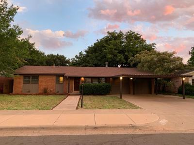 Single Family Home For Sale: 3415 53rd Street