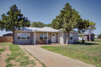 Slaton  Single Family Home Under Contract: 7527 E County Road 7220