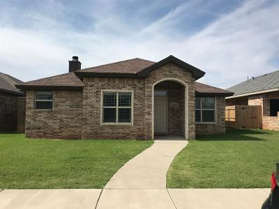 Lubbock Rental For Rent: 5827 E 104th Drive