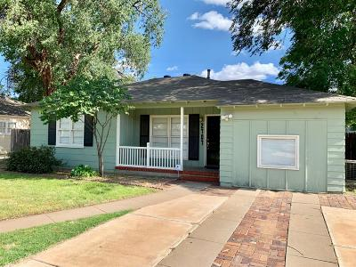 Lubbock Rental For Rent: 2707 30th Street