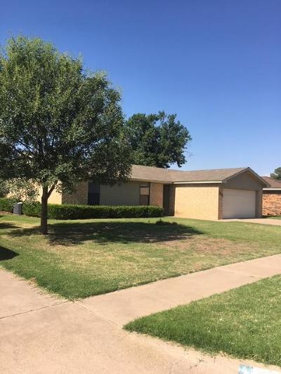 Lubbock Rental For Rent: 5235 95th Street