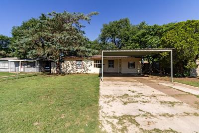 Single Family Home For Sale: 4616 Canton Avenue