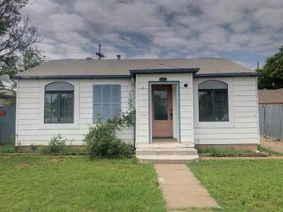 Lubbock Single Family Home For Sale: 1307 33rd Street
