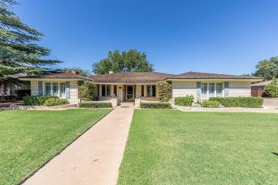 Lubbock Single Family Home For Sale: 7902 Joliet Avenue