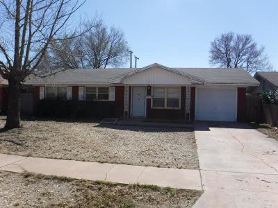 Lubbock County Single Family Home For Sale: 4929 6th Street
