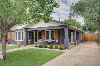 Lubbock Single Family Home For Sale: 2514 23rd Street