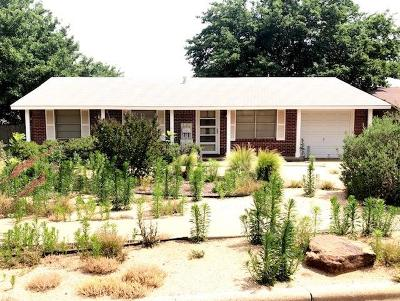 Lubbock Single Family Home Under Contract: 5423 45th Street