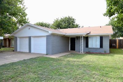 Single Family Home For Sale: 4704 59th Street
