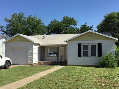 Single Family Home For Sale: 3004 33rd Street