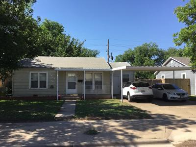 Single Family Home For Sale: 3009 30th Street