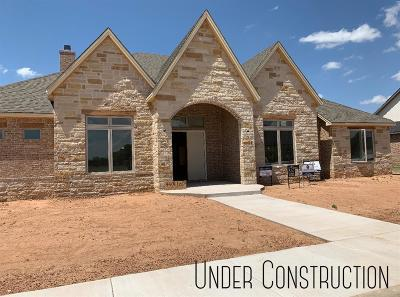 Lubbock Single Family Home Under Contract: 4504 106th Street