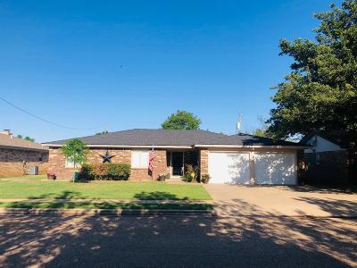 Idalou Single Family Home Under Contract: 1015 Cedar Avenue