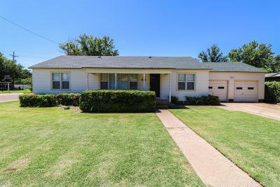 Littlefield TX Single Family Home For Sale: $109,000