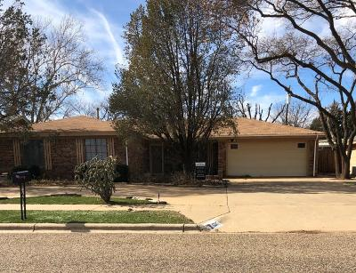 Brownfield, Meadow Single Family Home For Sale: 1207 S Howell Street