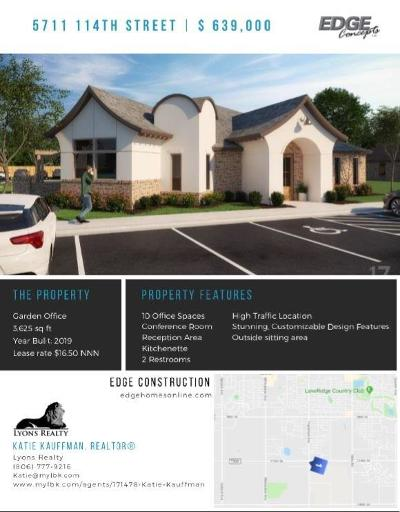 Lubbock Commercial For Sale: 5711 114th