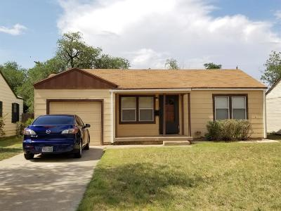 Lubbock Single Family Home For Sale: 3308 1st Place