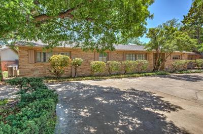 Lubbock Single Family Home For Sale: 3411 42nd Street