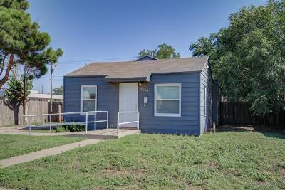 Single Family Home For Sale: 5104 36th Street