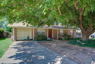 Lubbock Single Family Home For Sale: 5432 45th Street