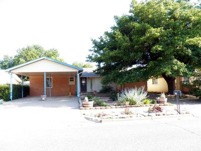 Wolfforth Single Family Home Under Contract: 705 6th Street