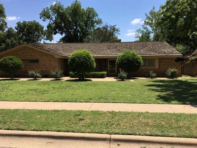 Lubbock Single Family Home For Sale: 4605 11th Street