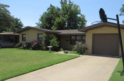 Lubbock Single Family Home Under Contract: 5009 45th Street