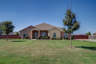 Lubbock Single Family Home Under Contract: 3006 County Road 7540