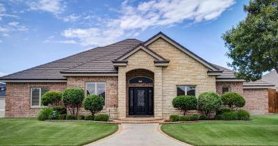 Lubbock Single Family Home Under Contract: 3806 103rd Street