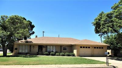 Slaton Single Family Home For Sale: 1505 Terry Drive