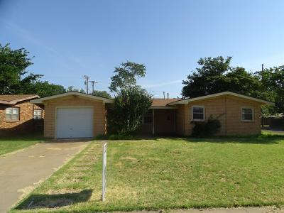 Lubbock Rental For Rent: 4802 45th