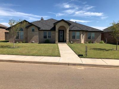 Lubbock Single Family Home For Sale: 3822 135th Street