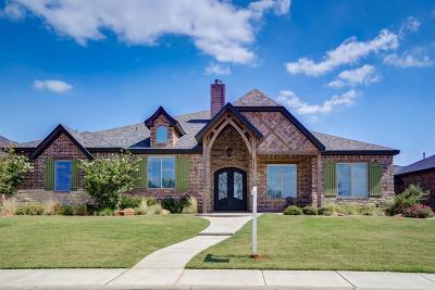 Lubbock Single Family Home Under Contract: 3710 135th Street