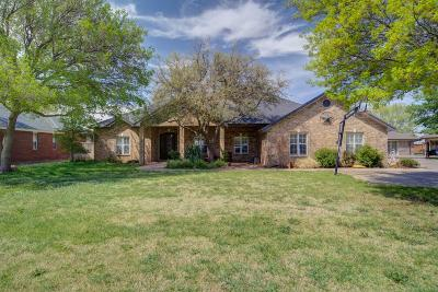 Lubbock Single Family Home Under Contract: 7306 93rd Street