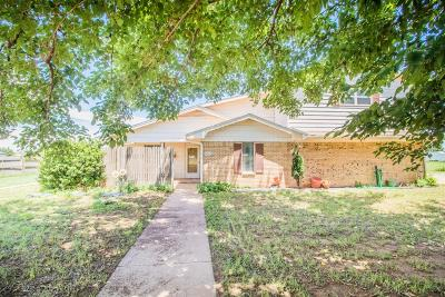 Lubbock Single Family Home Under Contract: 11010 N County Road 2100