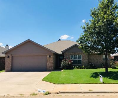 Lubbock Single Family Home For Sale: 6711 6th Street