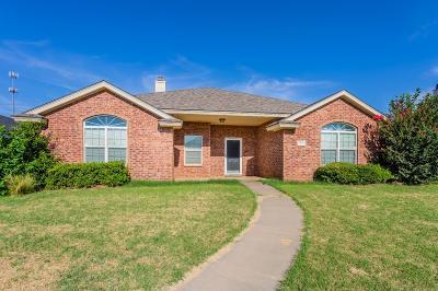 Lubbock Single Family Home For Sale: 10508 Geneva Avenue