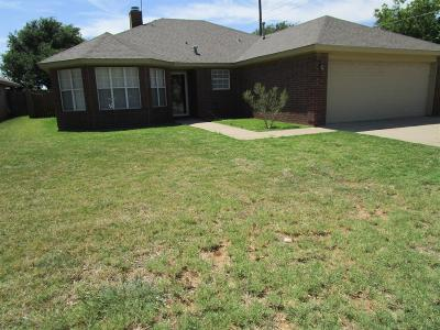 Lubbock Single Family Home For Sale: 9406 Gary Avenue