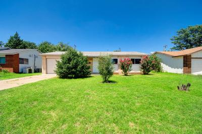 Lubbock Single Family Home Under Contract: 5308 48th Street