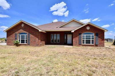 Slaton Single Family Home Under Contract: 19907 Farm Road 2192