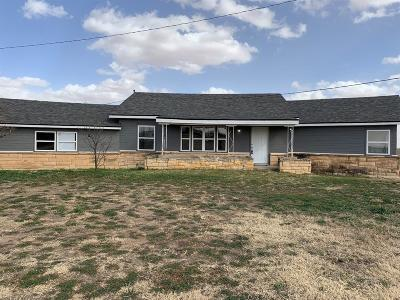 Lubbock Single Family Home For Sale: 5908 E Us Highway 62/82